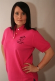 Active Rider fuchsia polo shirt